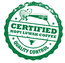 Kopi Luwak Coffee Certifiction