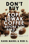 Kopi Luwak book - the most expensive coffee in the world