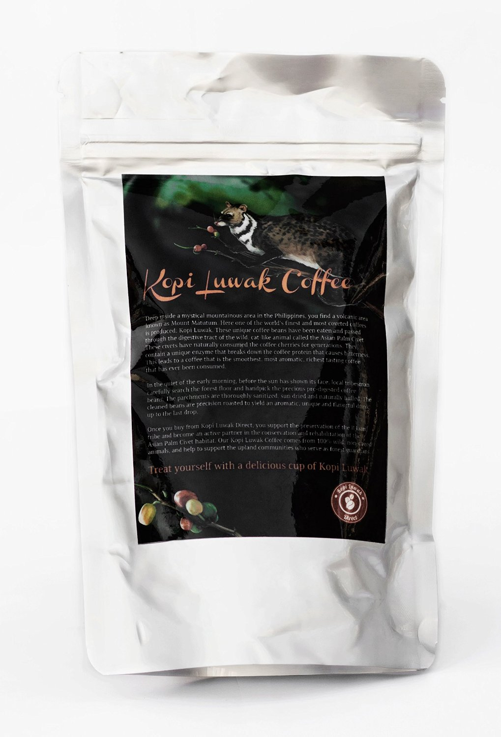 Buy Kopi Luwak - The Most Expensive Coffee
